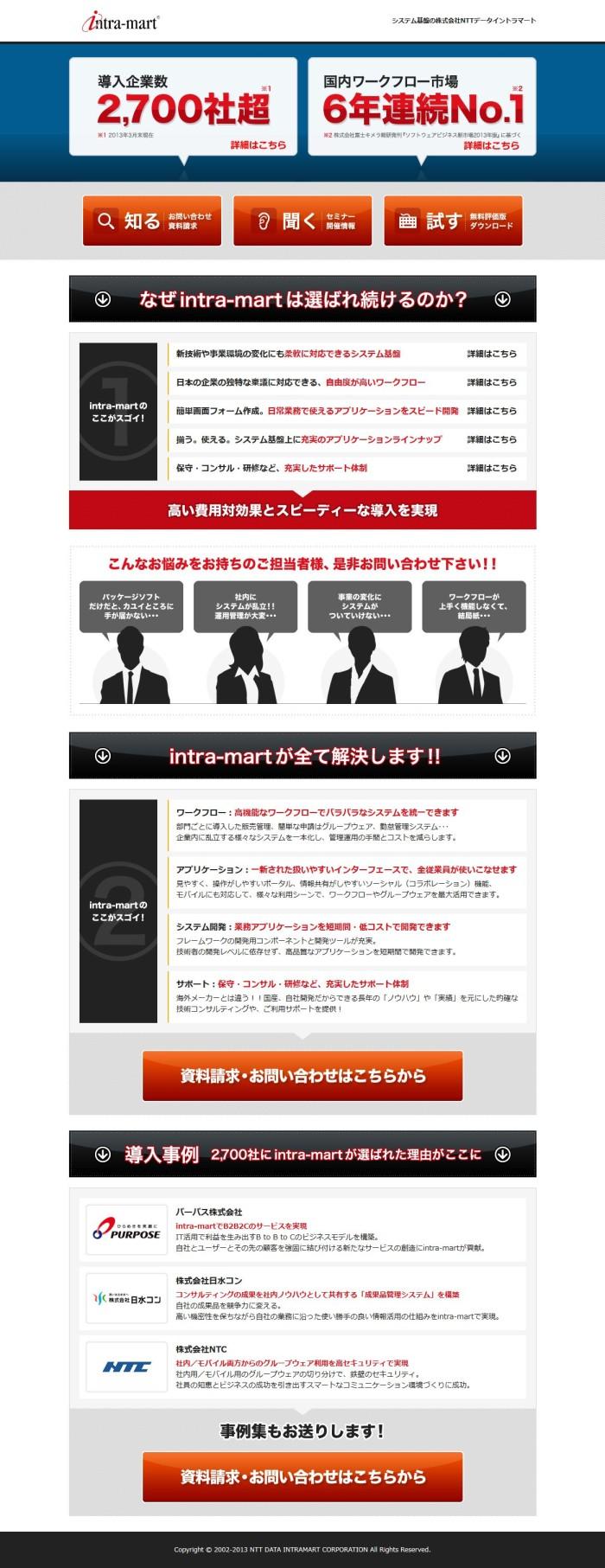 NTTデータイントラマート