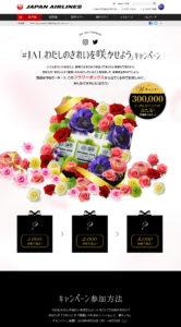 #JALわたしのきれいを咲かせようキャンペーン